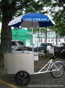 800 Buy Cart V IT Ice Cream Tricycle