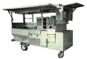 Vending Combination Trailer/Cart with NSF style sink