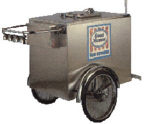 800 Buy Cart V-ICP Ice Cream Cart