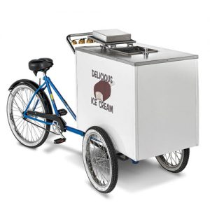 V-ICT Ice Cream Tricycle