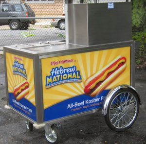 800 Buy Cart Model 5030 Hot Dog Cart