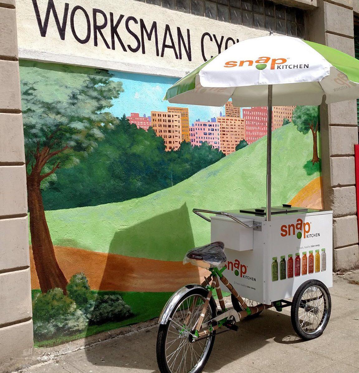 800 Buy Cart VITS Ice Cream Tricycle