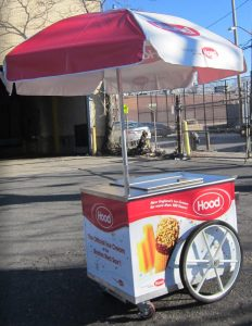 V M92 IDP Ice Cream Cart