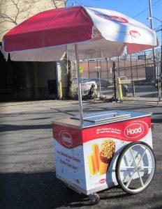 V M92 IDP Ice Cream Cart