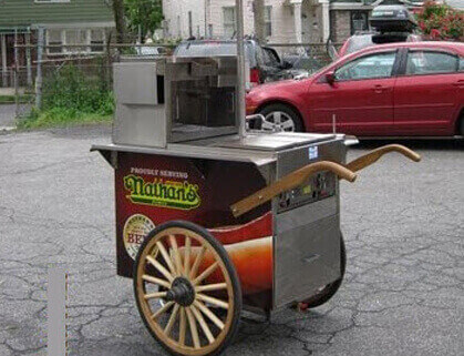 800 Buy Cart Hot Dog Vending